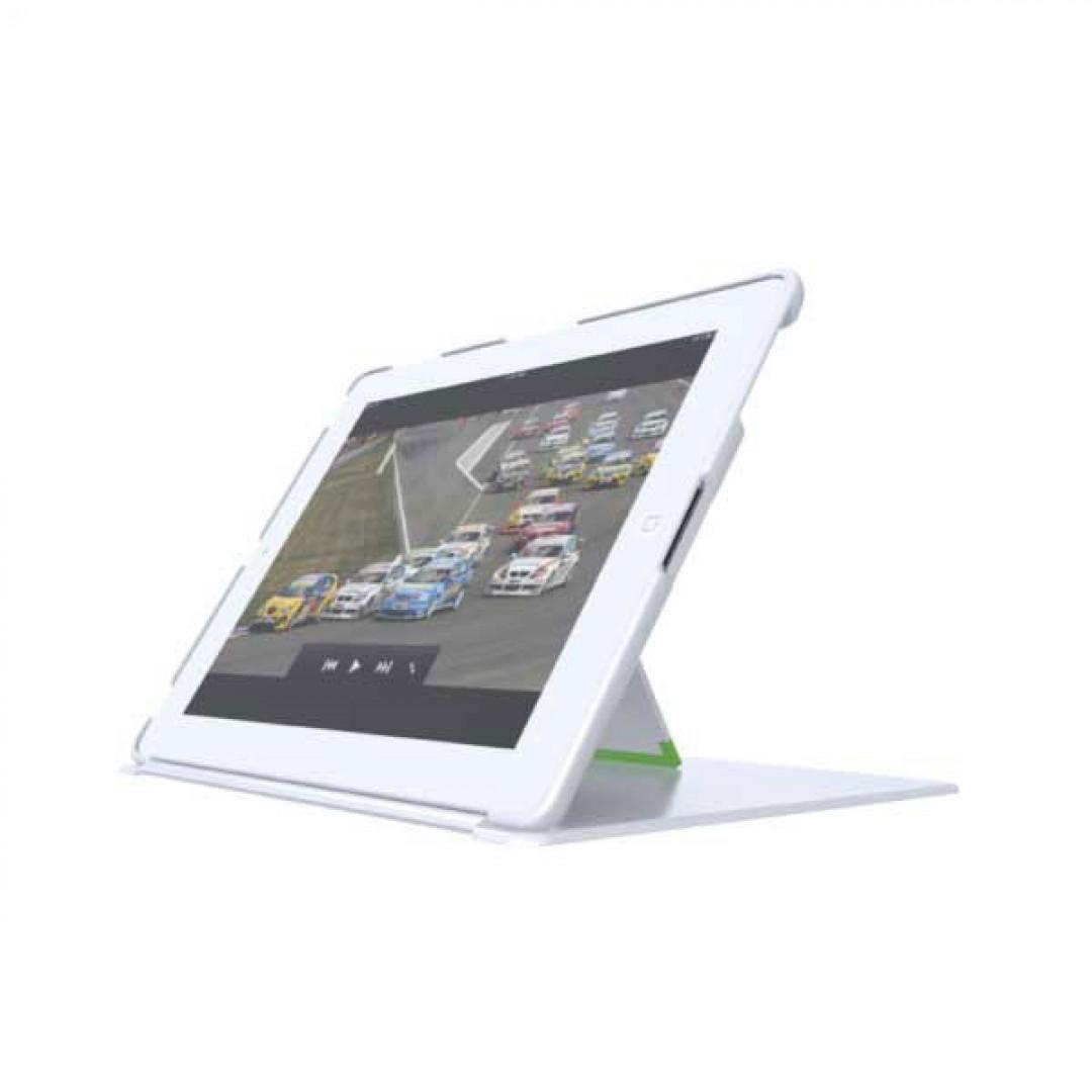 Pevné púzdro so stojančekom Leitz Complete pre iPad 2 Nový iPad biele 4b726276692