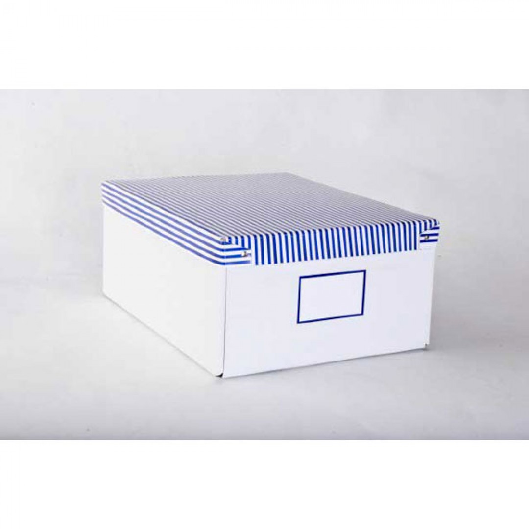 89bee0ab2 Box na spisy veľký modrý - Kancelárske potreby - Zakladanie a ...
