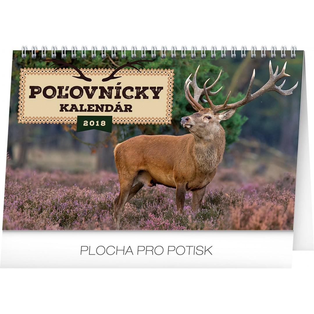 8b8fa557a Stolový kalendár Poľovnícky kalendár SK 2018, 23,1 x 14,5 cm ...
