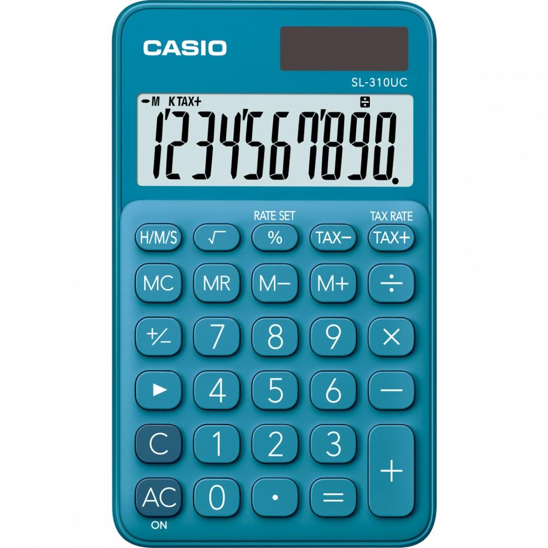 34aa2875dfa49 Kalkulačka Casio SL 310 UC BU modrá - Technika - Kancelárska ...